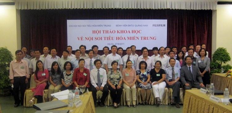 hn mientrung 2 Hội thảo khoa học Chi hội Nội soi Tiêu hóa miền Trung lần thứ nhất