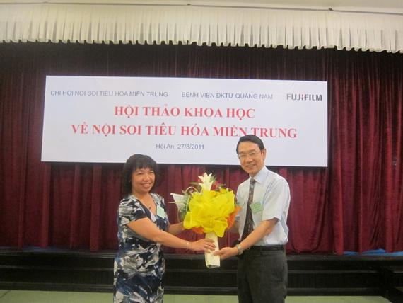 hn mientrung 5 Hội thảo khoa học Chi hội Nội soi Tiêu hóa miền Trung lần thứ nhất