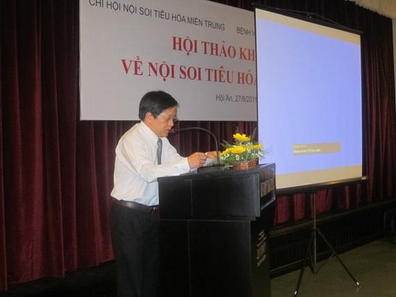 hn mientrung 7 Hội thảo khoa học Chi hội Nội soi Tiêu hóa miền Trung lần thứ nhất