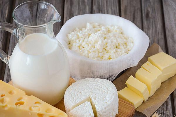 Thực phẩm từ bơ, sữa 1