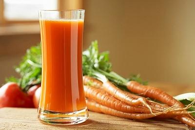 4. Nước ép cà rốt 1