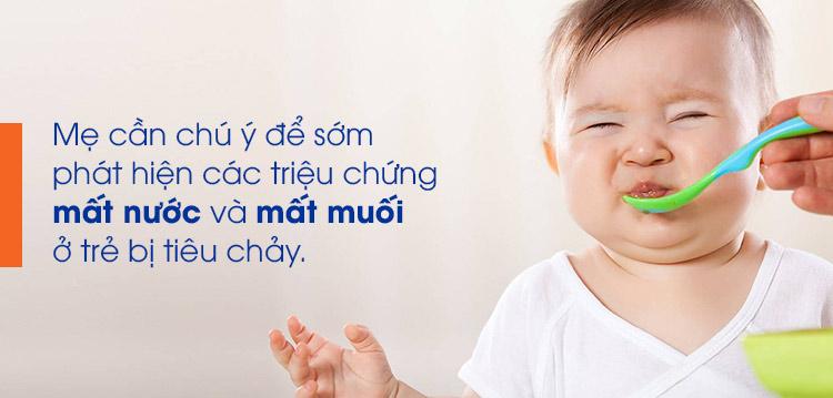 Dấu hiệu tiêu chảy ở trẻ 1