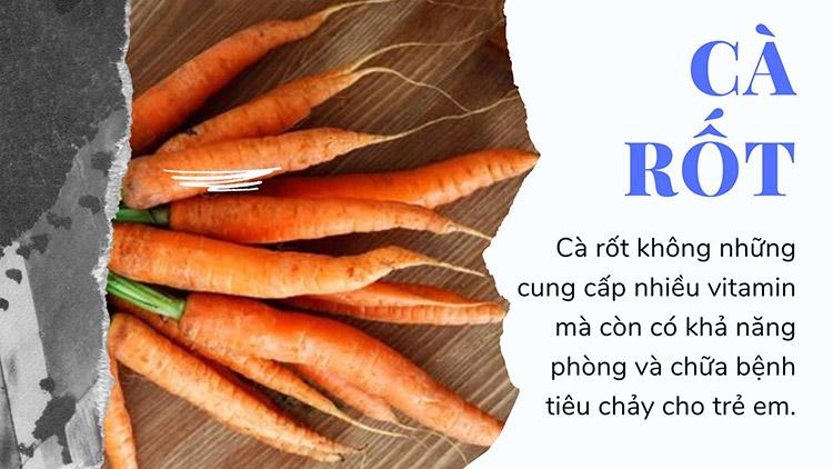 9. Cà rốt 1