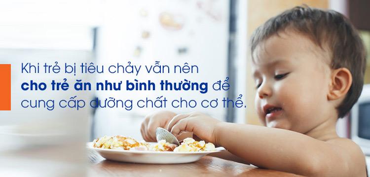 Số lượng thức ăn, bữa ăn trong ngày cho trẻ bị tiêu chảy 1