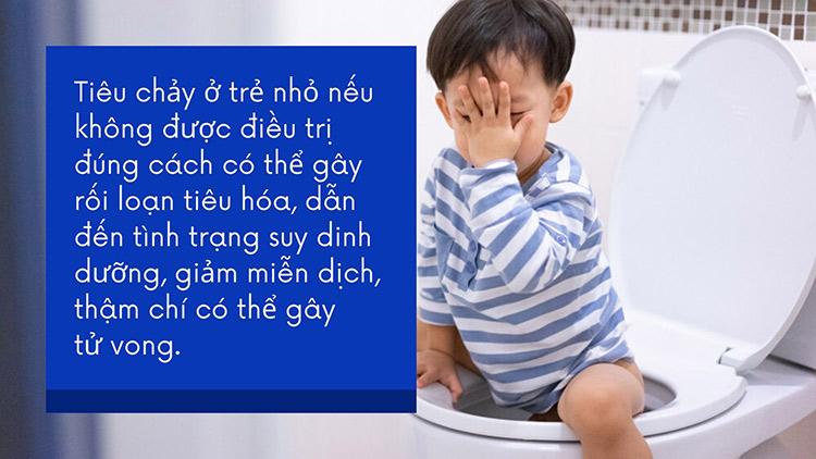 Hậu quả của bệnh tiêu chảy ở trẻ 1