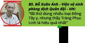 Người Việt đã dùng Tràng Phục Linh hiệu quả như thế nào ? 2
