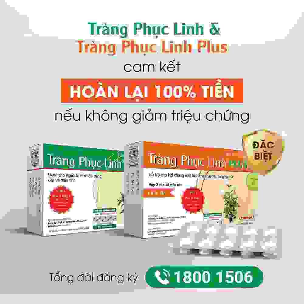 Tràng Phục Linh Plus hỗ trợ phòng ngừa và điều trị hội chứng ruột kích thích 1