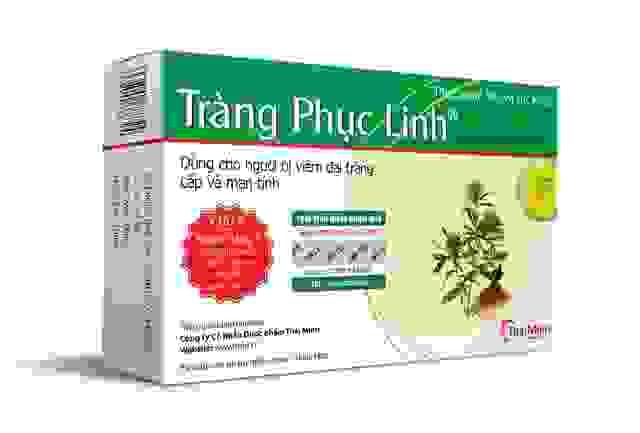 Sản phẩm chuyên biệt cho bệnh viêm loét đại tràng 1