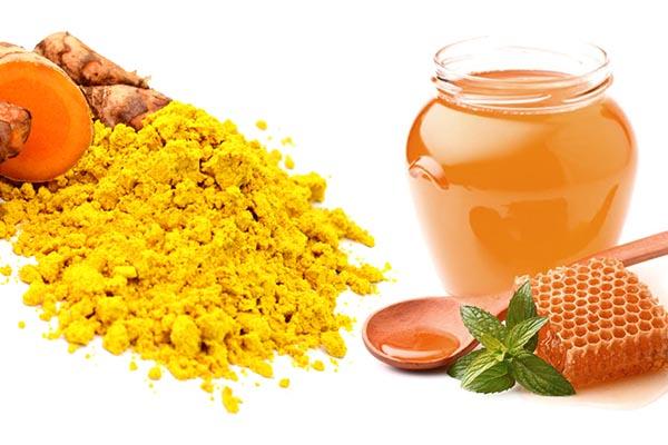 Bài thuốc từ nghệ và mật ong 1