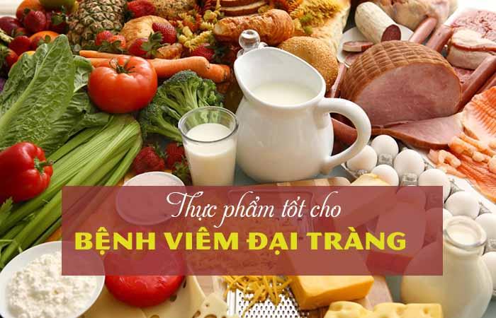 Thực phẩm tốt cho người viêm đại tràng 1