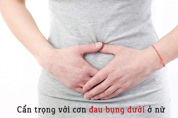 Nguyên nhân gây đau bụng dưới rốn ở nữ giới 1