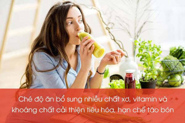 Thay đổi chế độ ăn uống 1