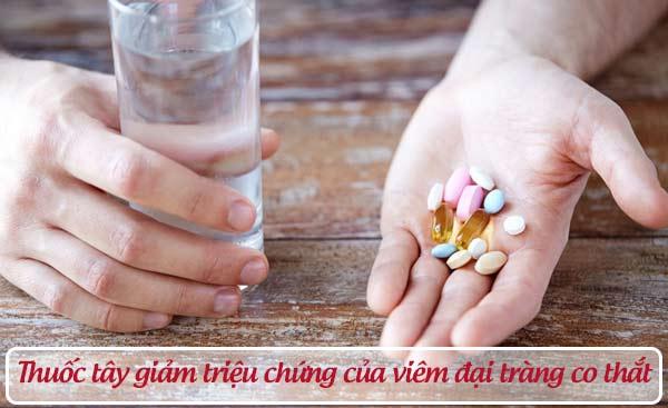 Sử dụng thuốc điều trị viêm đại tràng co thắt 1