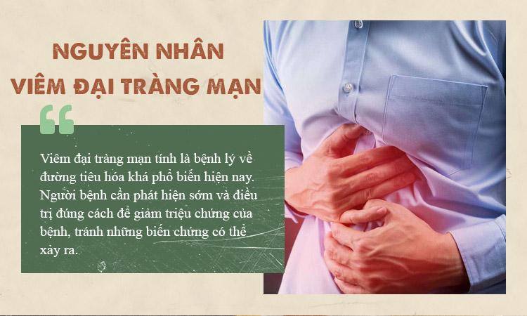 Nguyên nhân gây viêm đại tràng mạn tính 1