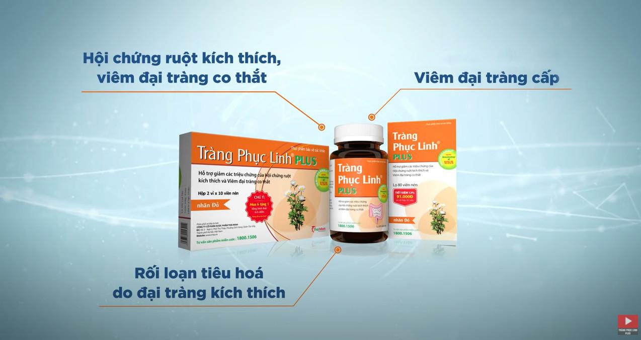 Thứ Nhất, Tràng Phục Linh Plus đi vào gốc rễ gây bệnh, nên hỗ trợ giảm nhanh triệu chứng và hỗ trợ ngăn ng� 5