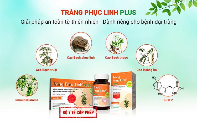 1. Tràng Phục Linh Plus đi vào gốc rễ gây bệnh, nên giảm nhanh triệu chứng và ngăn ngừa tái phát 5